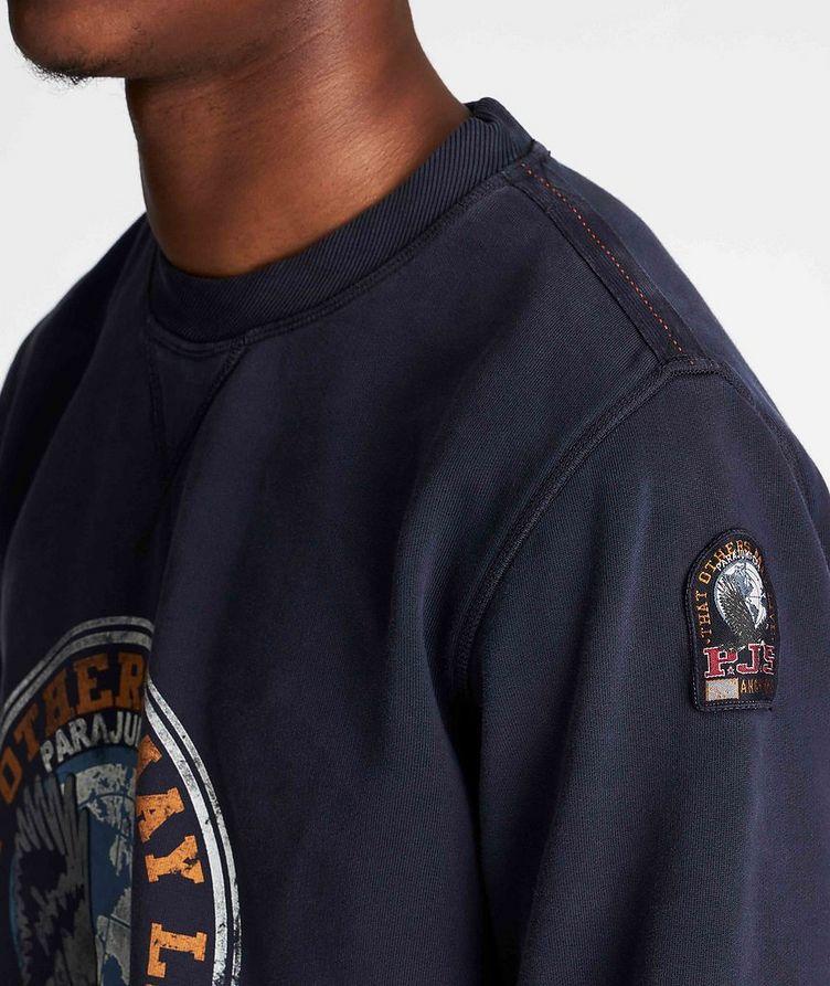 Nate Graphic Fleece Sweatshirt image 3