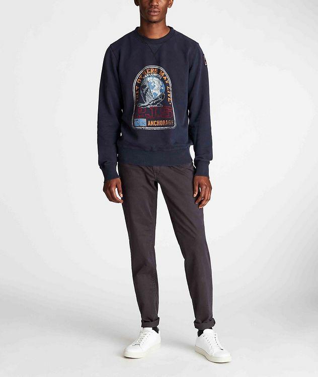 Nate Graphic Fleece Sweatshirt picture 5