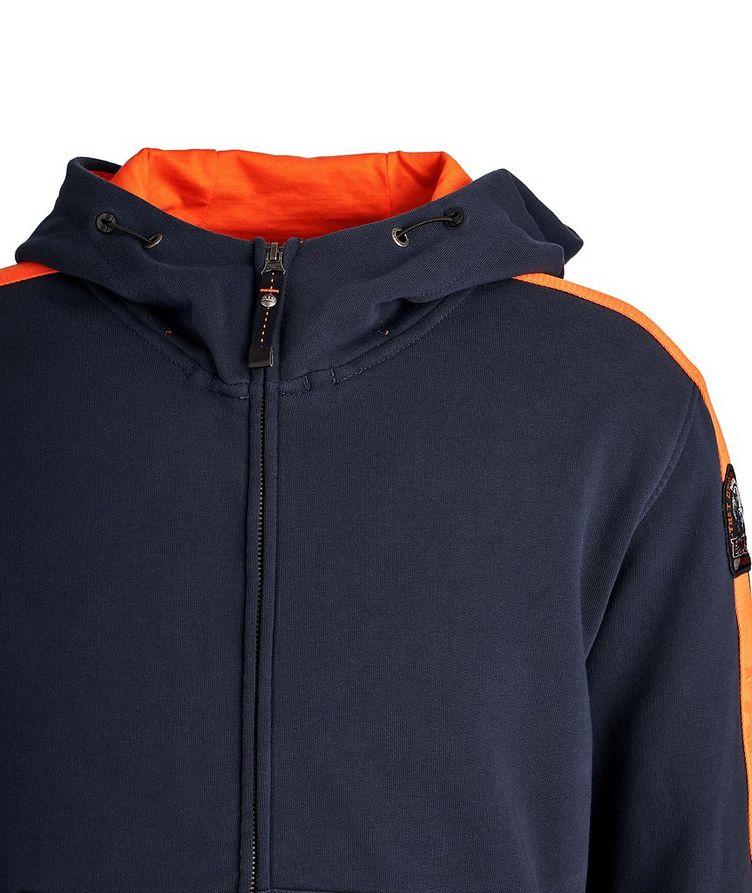 Aldrin Zip-Up Cotton-Fleece Hoodie image 2