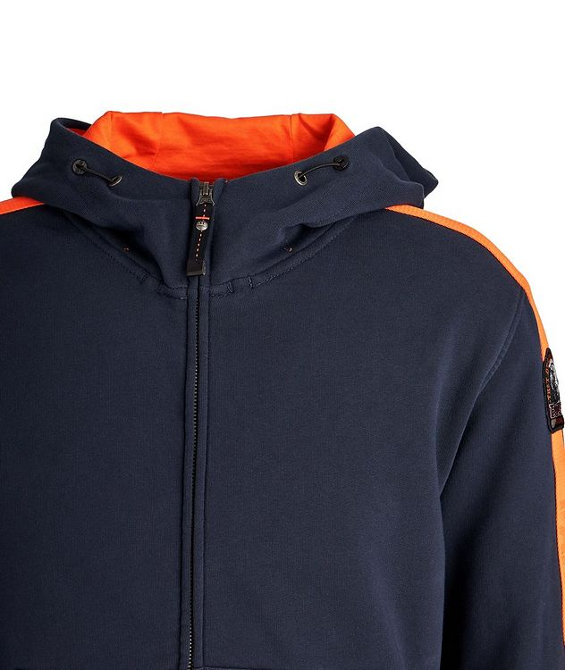 Aldrin Zip-Up Cotton-Fleece Hoodie picture 3