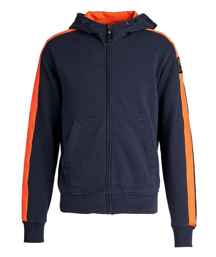 Aldrin Zip-Up Cotton-Fleece Hoodie image 0
