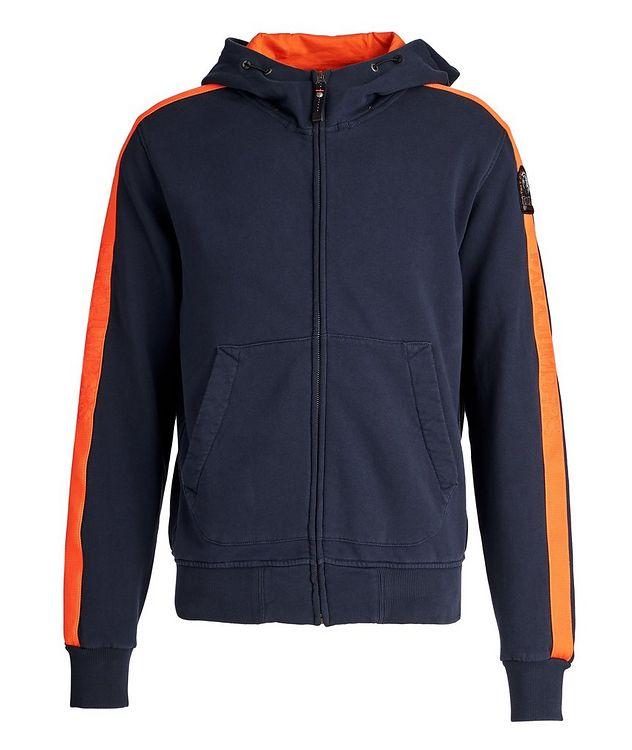Aldrin Zip-Up Cotton-Fleece Hoodie picture 1