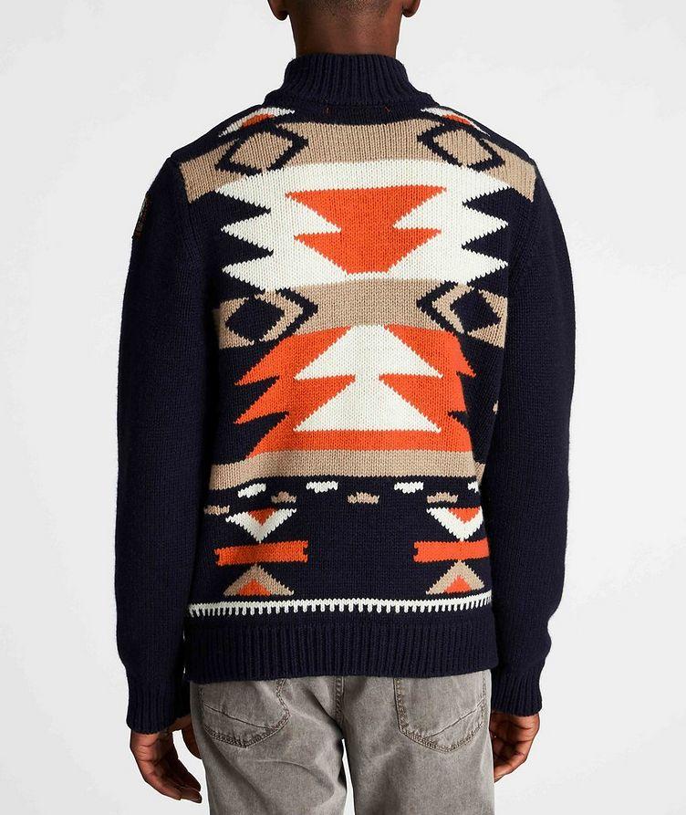 Santana Tribal Wool-Blend Cardigan image 2
