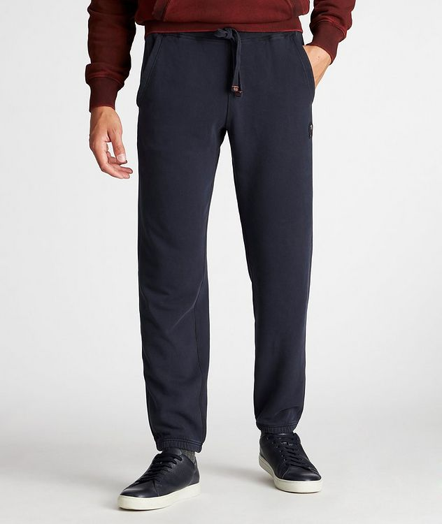 Cooper Cotton-Fleece Sweatpants picture 2