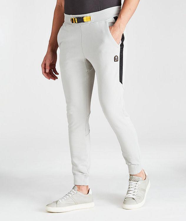Collins Slim-Fit Cotton-Fleece Joggers picture 1