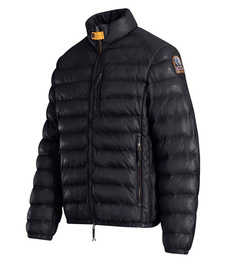 Ernie Leather Puffer Jacket image 1