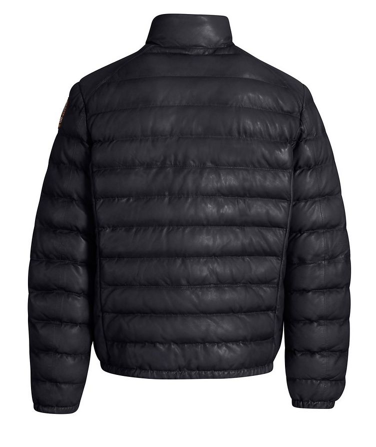 Ernie Leather Puffer Jacket image 2