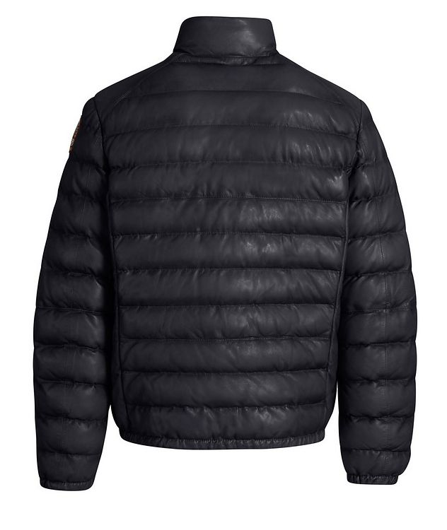 Ernie Leather Puffer Jacket picture 3