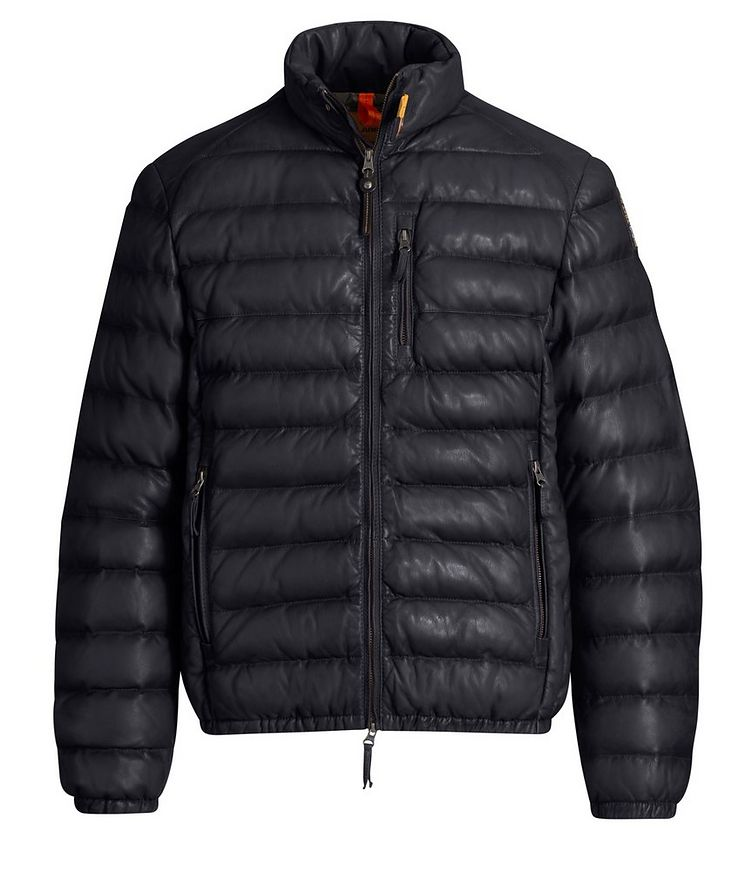 Ernie Leather Puffer Jacket image 0
