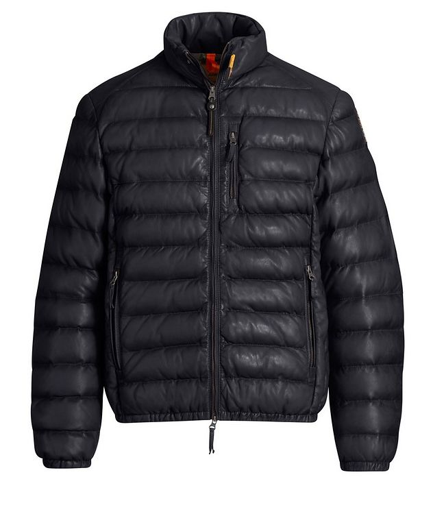 Ernie Leather Puffer Jacket picture 1