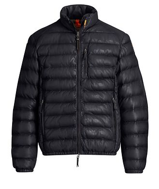 Parajumpers Ernie Leather Puffer Jacket