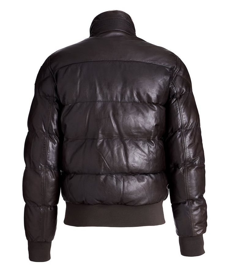 Alf Leather Puffer Jacket image 1