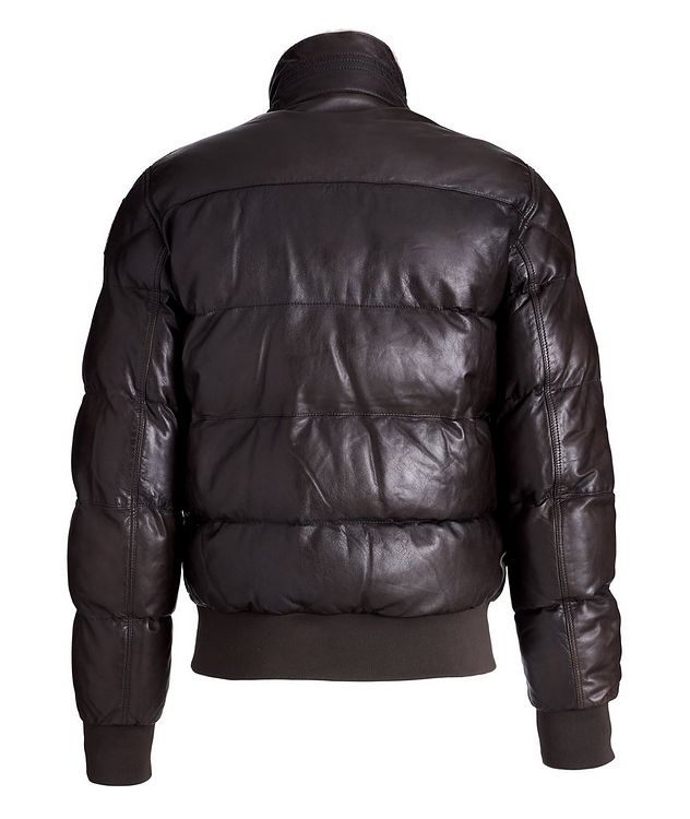 Alf Leather Puffer Jacket picture 2