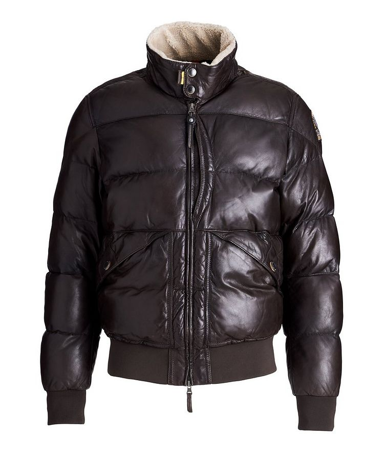 Alf Leather Puffer Jacket image 0