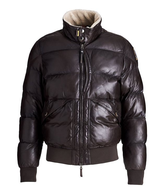 Alf Leather Puffer Jacket picture 1