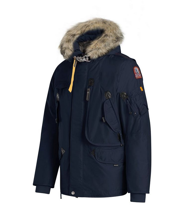 Right Hand Fur-Hooded Parka image 1