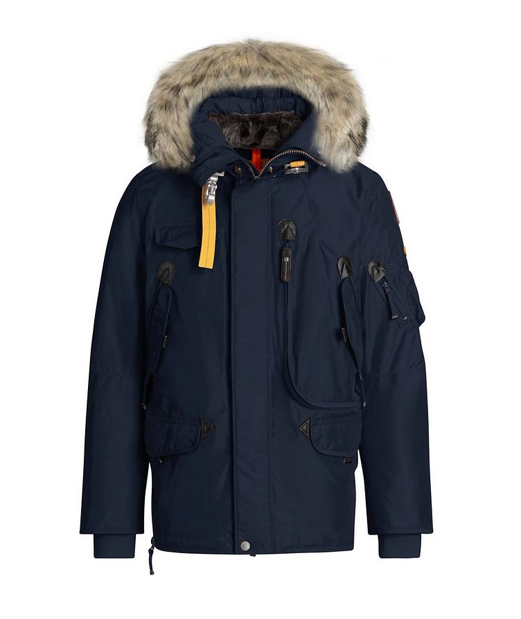 Right Hand Fur-Hooded Parka image 0