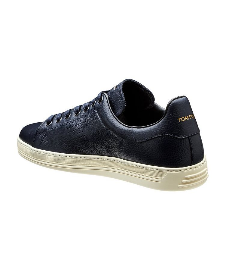 Leather Low-Tops image 1