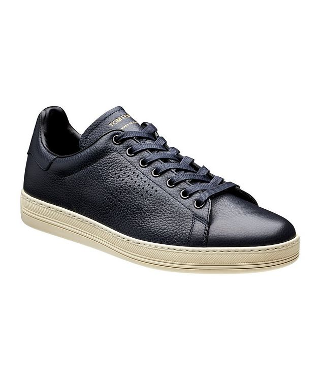 Leather Low-Tops picture 1