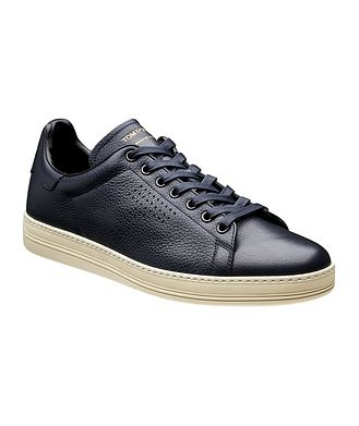Tom Ford Leather Low-Tops