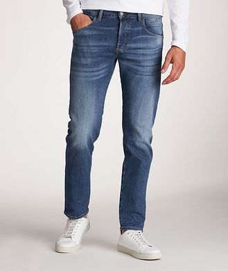 Diesel D-Bazer Stretch-Cotton Tapered Jeans