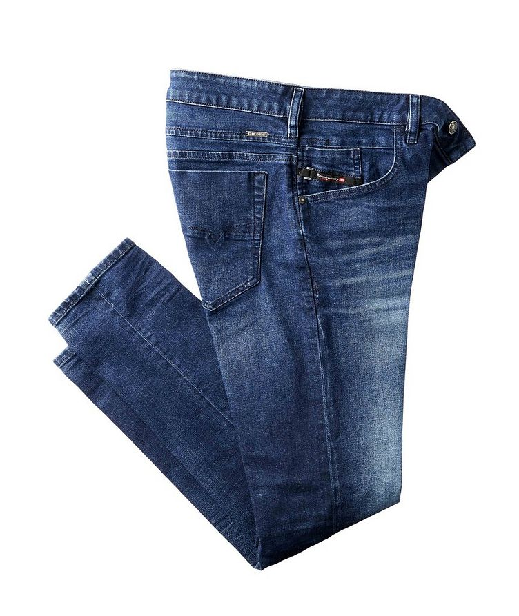 D-Bazer Stretch-Cotton Tapered Jeans image 0