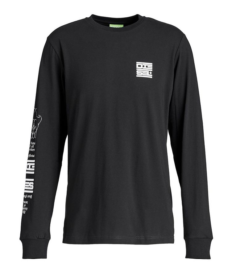 Long-Sleeve Graphic T-Shirt image 0