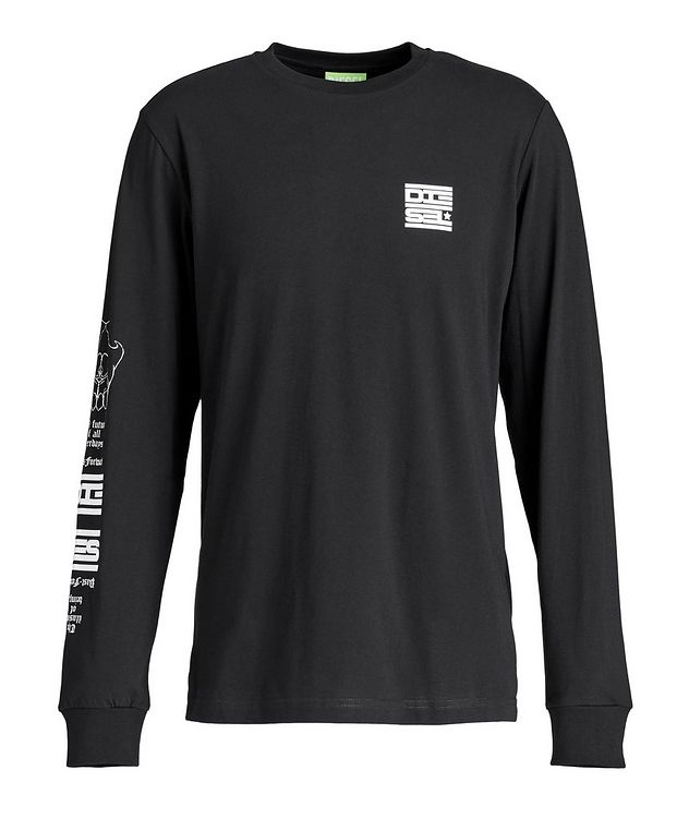 Long-Sleeve Graphic T-Shirt picture 1