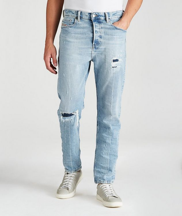 D-Vider Distressed Slim Jeans picture 1
