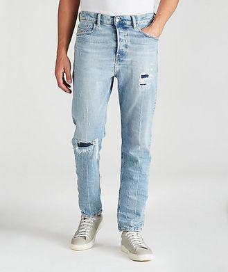 Diesel D-Vider Distressed Slim Jeans