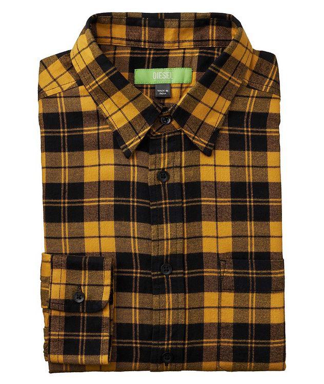Slim-Fit Plaid Shirt picture 1