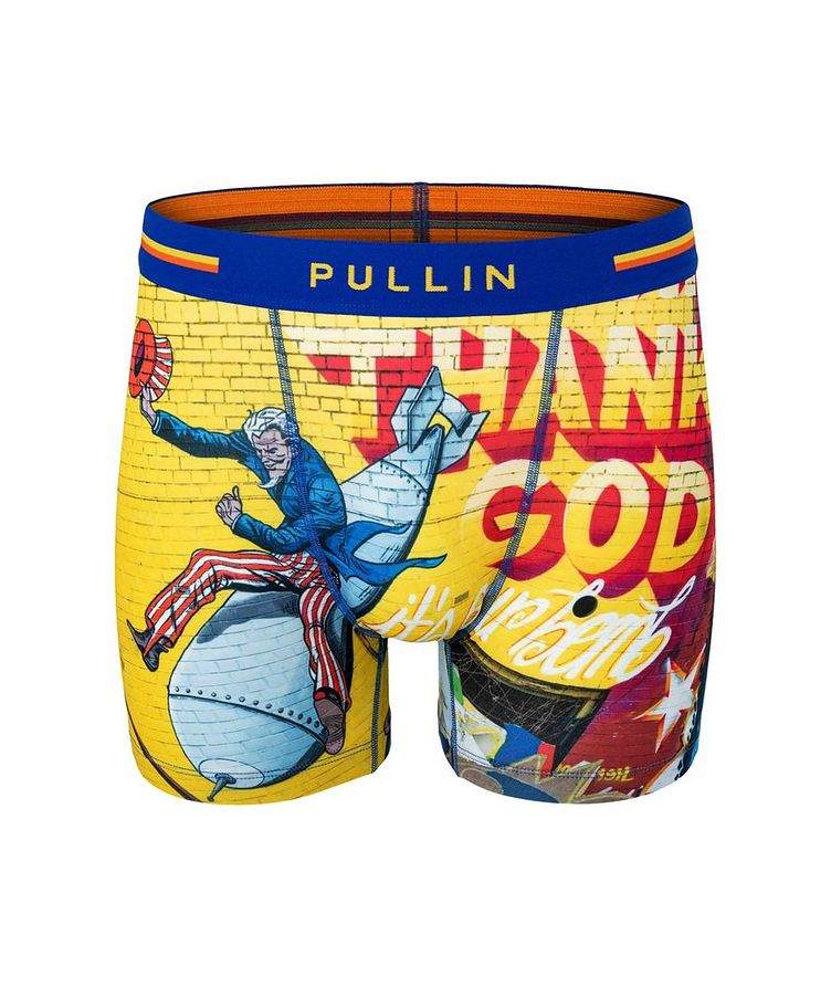 Fashion 2 THANKGOD Boxers image 0