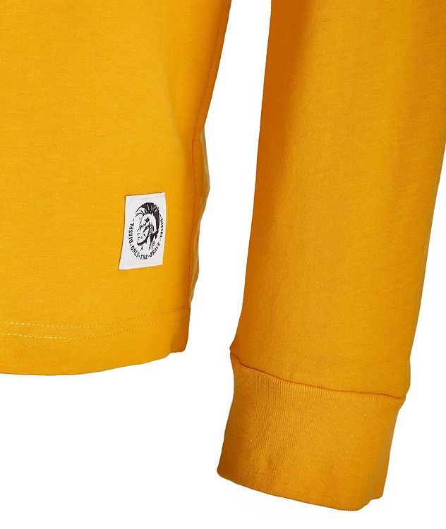 Long-Sleeve Cotton T-Shirt picture 2