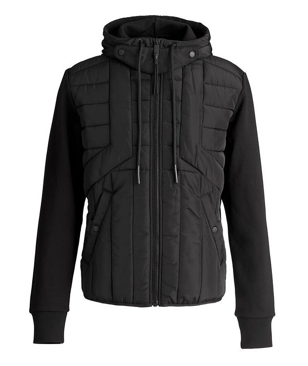 J-Lines Quilted Hoodie picture 1