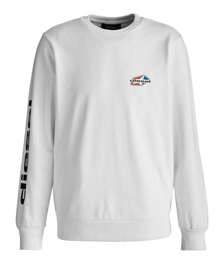 Girk Star Logo Cotton-Blend Sweatshirt image 0