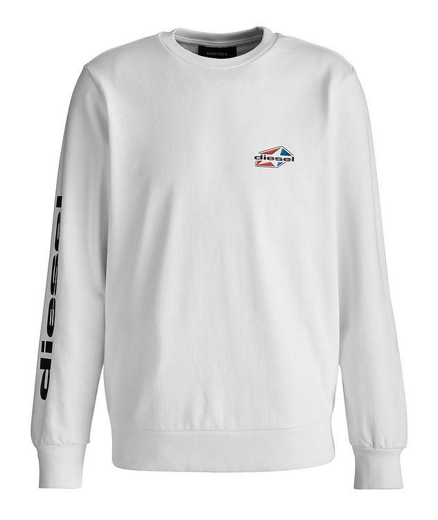 Girk Star Logo Cotton-Blend Sweatshirt picture 1