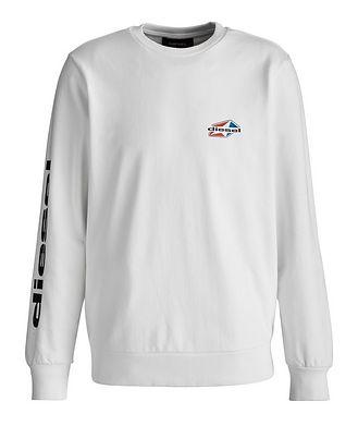 Diesel Girk Star Logo Cotton-Blend Sweatshirt