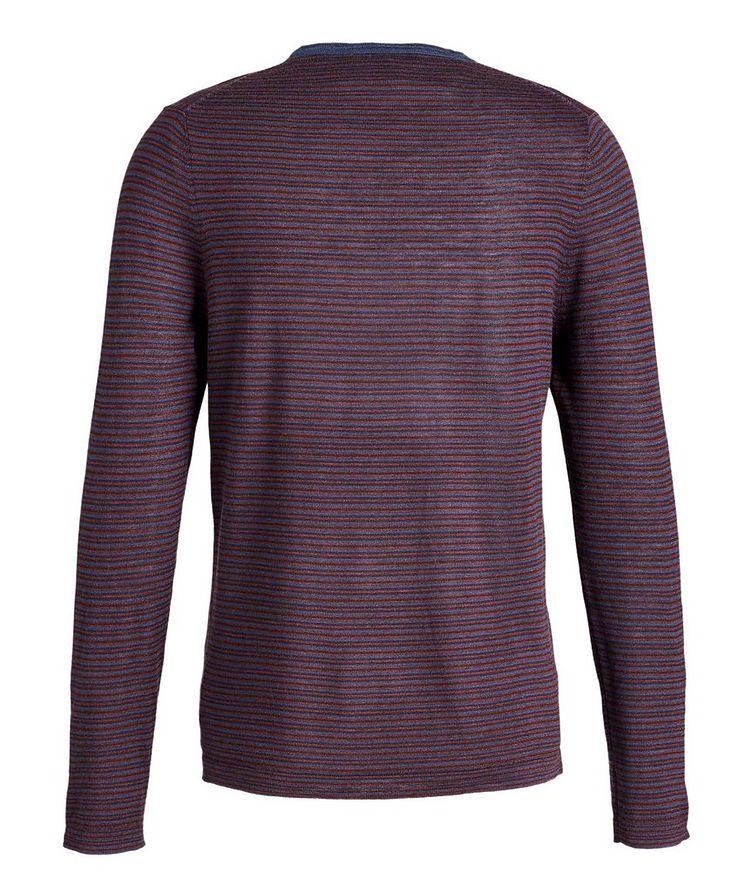 Pull en laine à rayures image 1