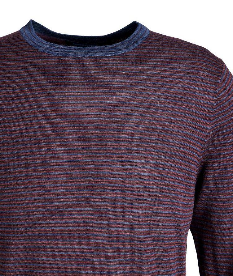 Pull en laine à rayures image 2