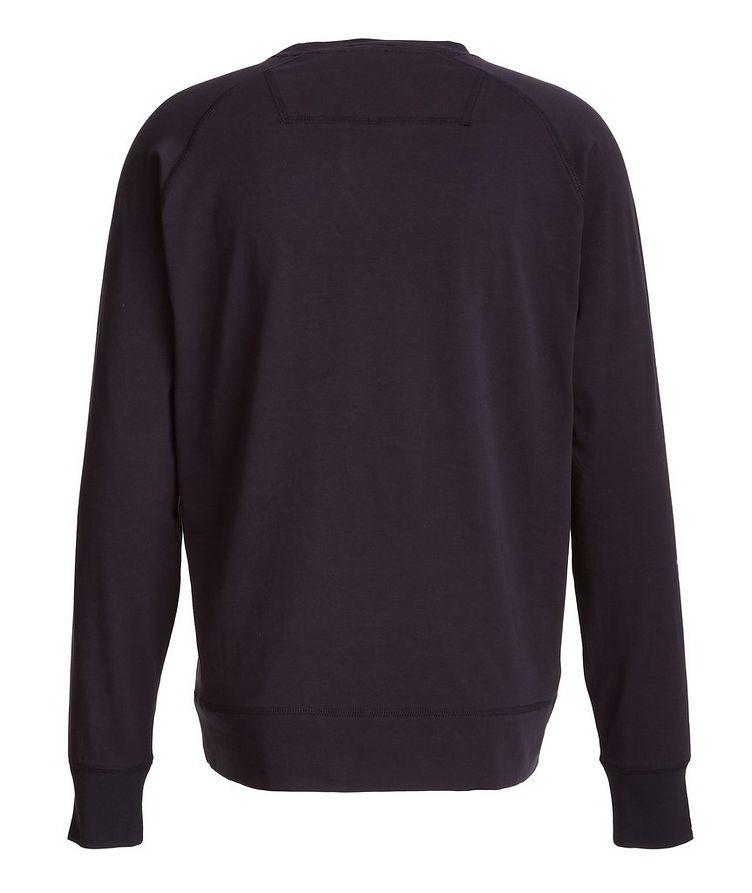 Long-Sleeve Stretch-Pima Cotton T-Shirt image 1