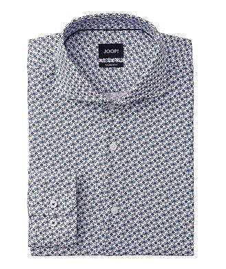 Joop! Slim Fit Floral-Printed Dress Shirt