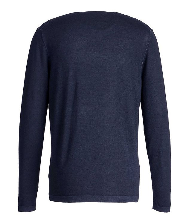 Long-Sleeve Merino Sweater picture 2