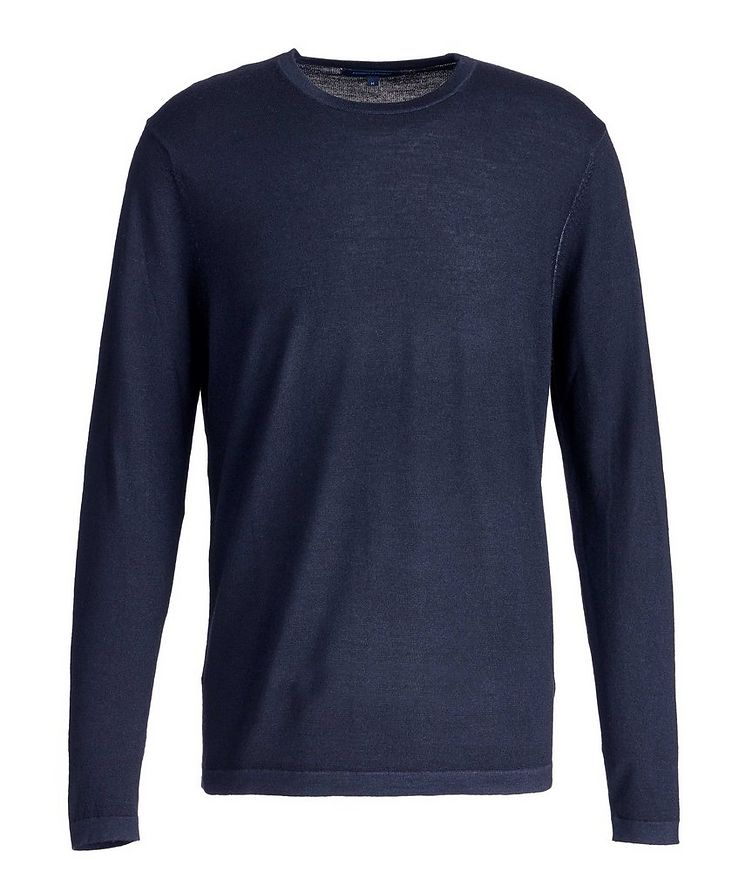 Long-Sleeve Merino Sweater image 0