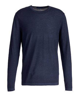 Patrick Assaraf Long-Sleeve Merino Sweater