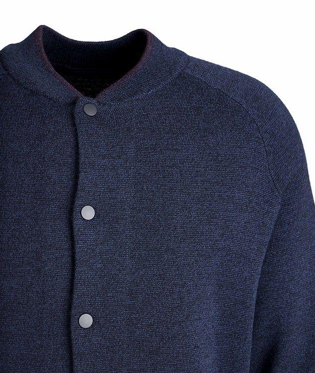 Extra-Fine Merino Wool Cardigan picture 3