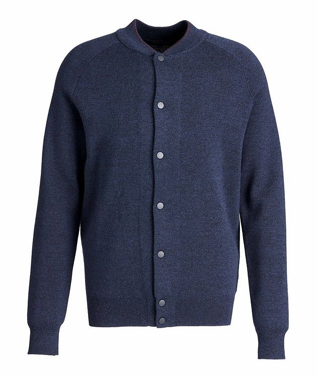 Extra-Fine Merino Wool Cardigan picture 1