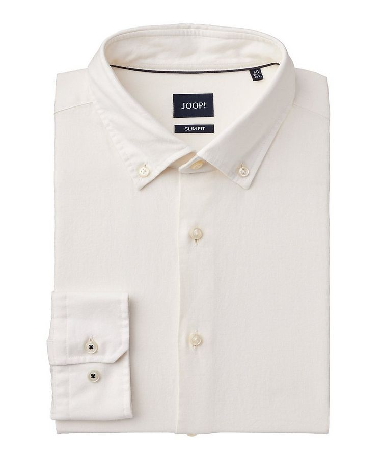 Slim Fit Organic Cotton Shirt image 0