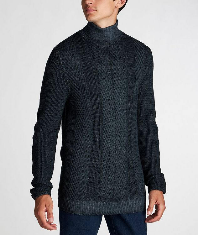 Fisherman-Knit Sweater picture 2