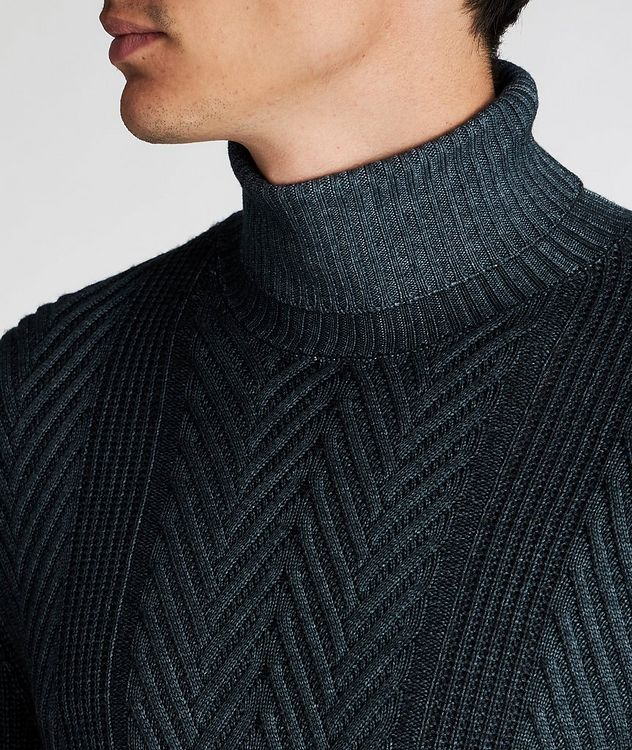 Fisherman-Knit Sweater picture 4