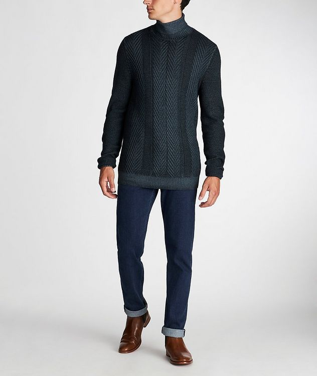 Fisherman-Knit Sweater picture 5